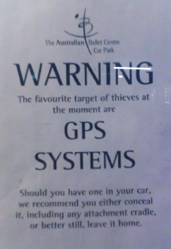 GPS Systems - Leave home without it!