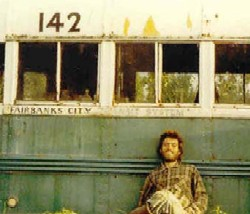 Chris McCandless and his magic bus