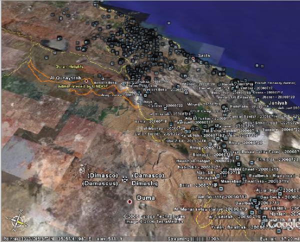 Google Israel Map