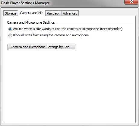 FlashPlayerSettings